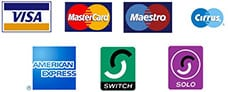 credit card payments accepted